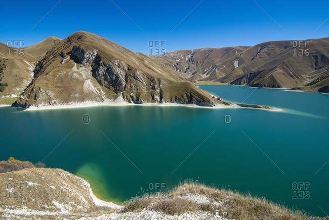 Russia- Caucasus- Chechnya- Lake Kezenoyam