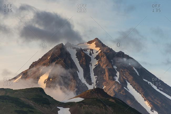 Russia- Kamchatka- Vilyuchik volcano