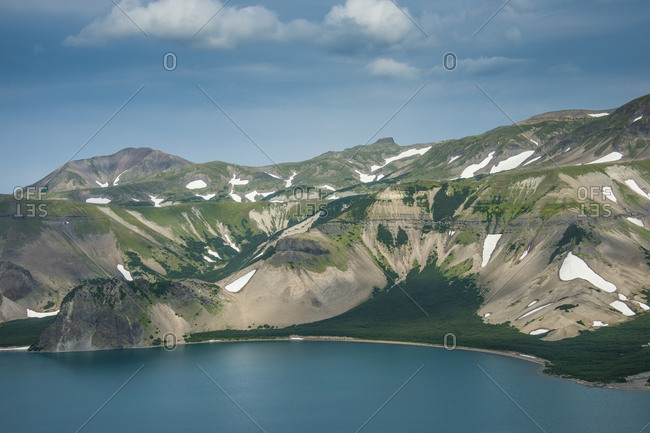 Russia- Kamchatka- Crater of Ksudach Volcano