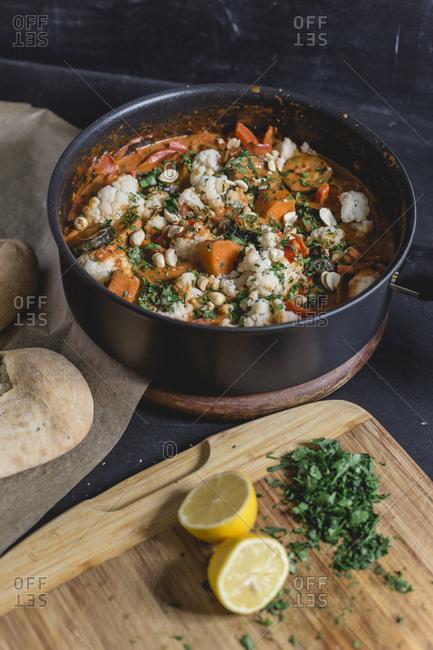 Tikka Masala Curry with Naan bread