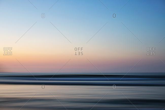 Idyllic ocean view at sunset, Sayulita, Nayarit, Mexico