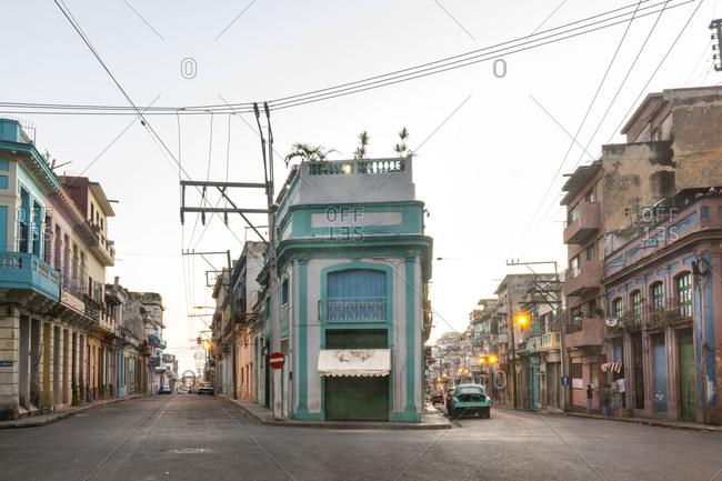March 17, 2018: City view at twilight- Havana- Cuba