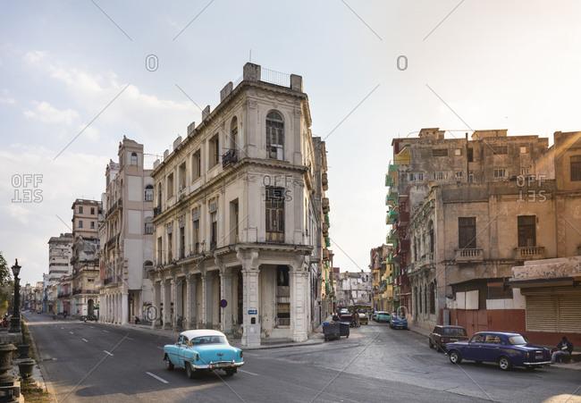 March 18, 2018: City view of Centro Viejo- Havana- Cuba