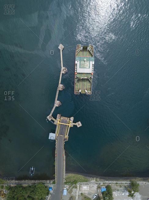 Ferry harbor- Kayangan- Lombok- Indonesia