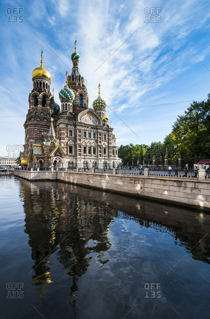 August 31, 2012: Church of the Savior on Blood- St. Petersburg- Russia