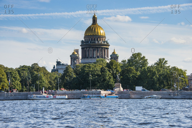 August 31, 2012: Saint Isaac's Cathedral- St. Petersburg- Russia