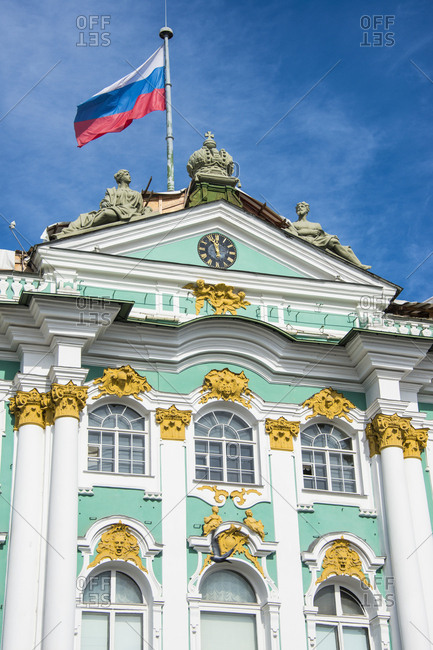 The Hermitage- winter palace- St. Petersburg- Russia