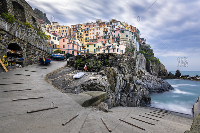 Manorola- Cinque Terre- Ligurian Riviera-  La Spezia Province- Italy