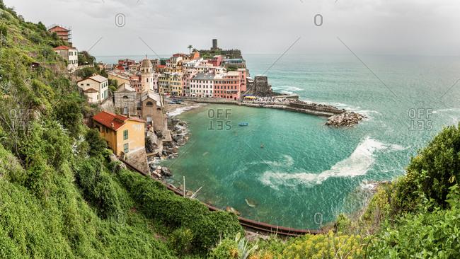 Vernazza- Cinque Terre- Ligurian Riviera- La Spezia Province- Italy