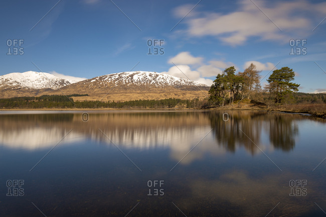 Loch Tulla in the Scottish Highlands