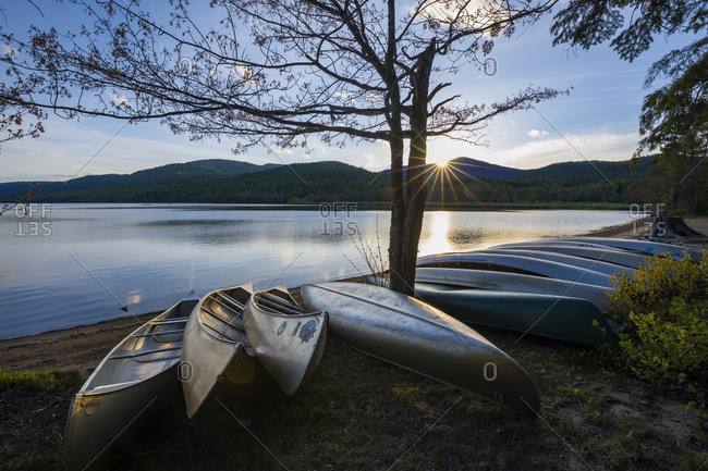 May 19, 2017: Lewey Lake state campground, Adirondacks, New York