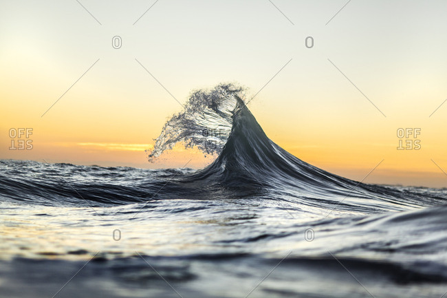 Collision of waves