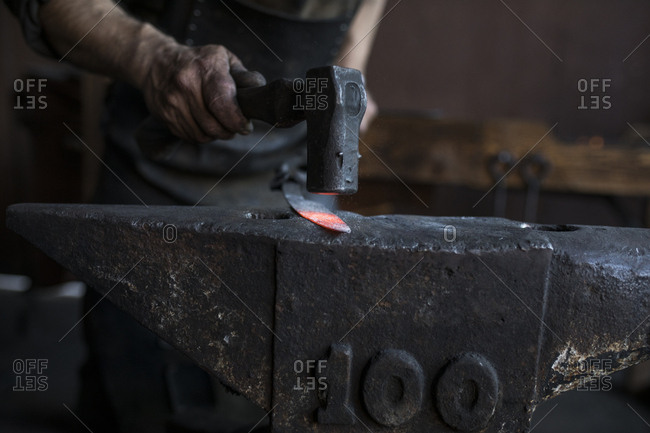 Crop blacksmith casting iron