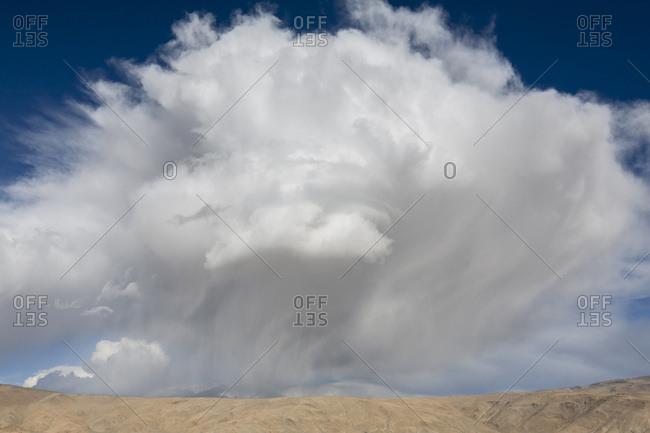 Cloud formation, Ladakh, India.