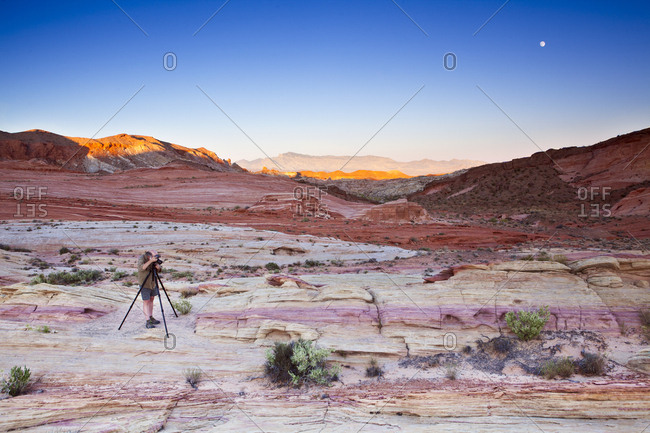 Landscapes of Valley of Fire State Park, NV