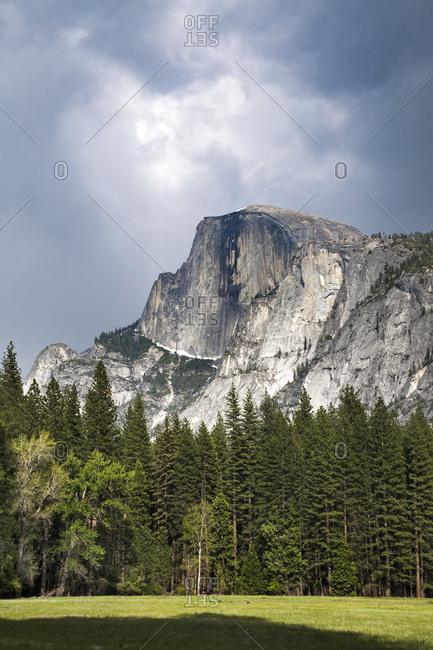 Half Dome At Yosemite National Park, California, USA