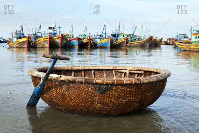 Fishing boats in Mui Ne