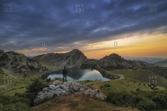 Covandonga Lakes, Asturias, Spain.