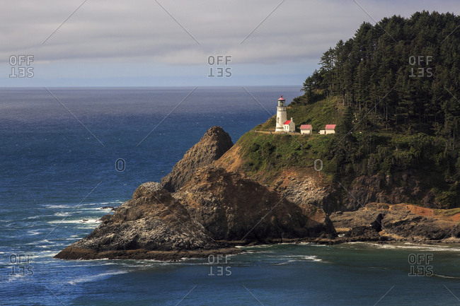 Haceta Head light house