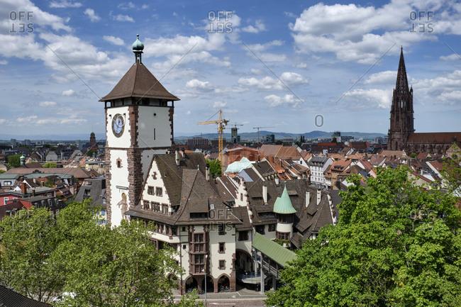 Historical Swabian Gate- Freiburg- Germany