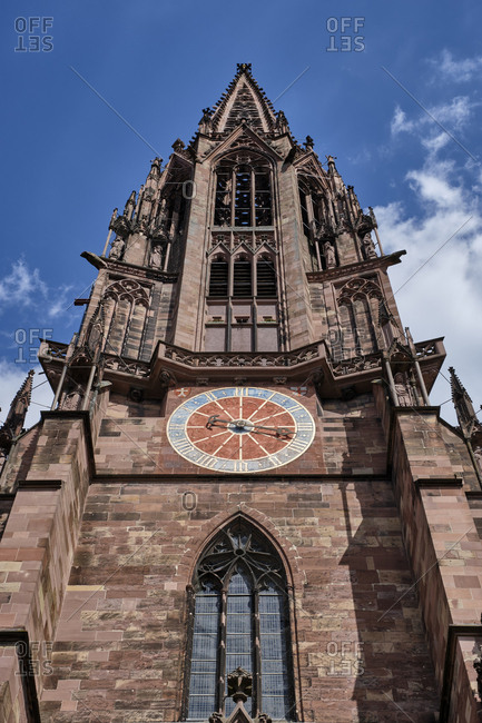 Church Spire of Freiburg Minster- Freiburg- Germany