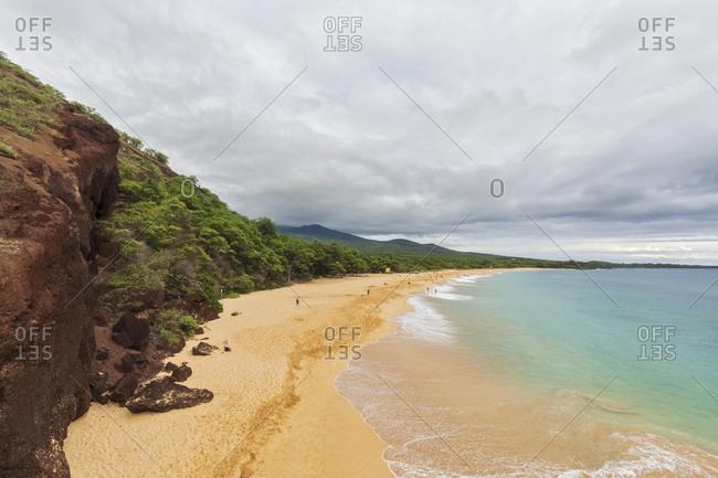 Big Beach- Makena Beach State Park- Maui- Hawaii- USA