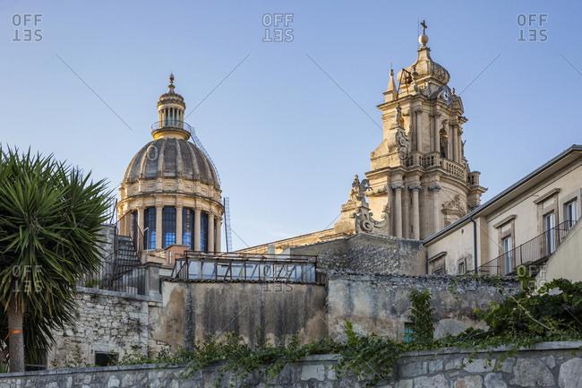Duomo di San Giorgio in evening light- Ragusa Ibla- Ragusa- Sicily- Italy