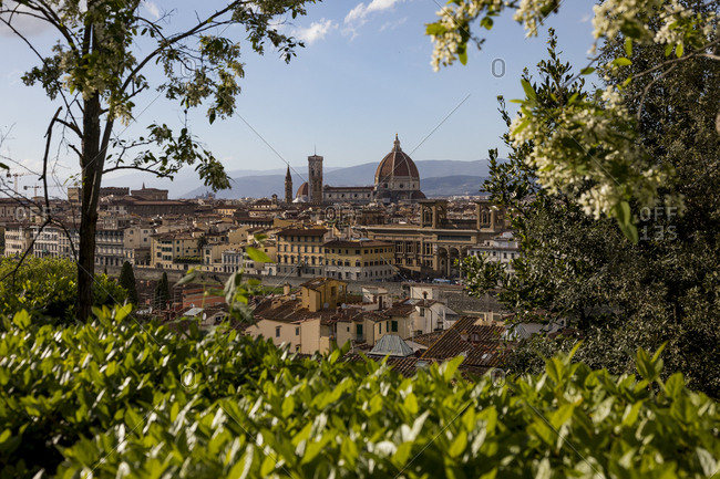 View to Florence cathedral- Florence- Italy
