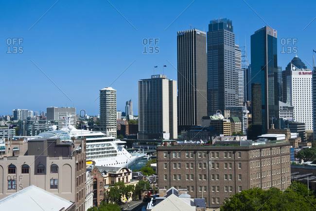 Skyline of Sydney- New South Wales- Australia