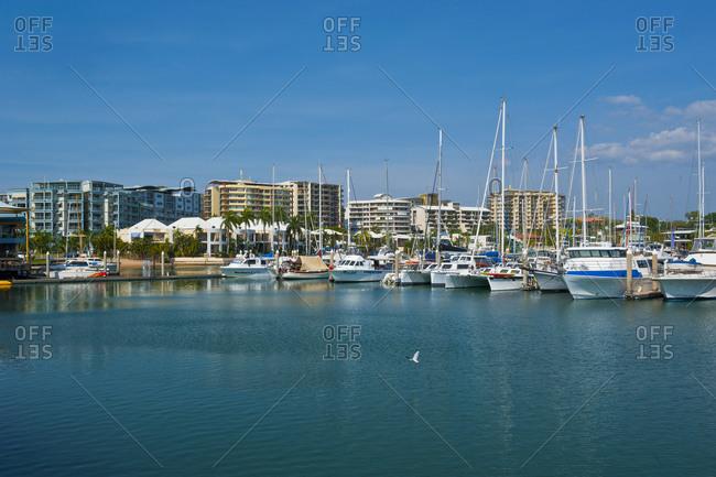 The Marina of Darwin- Northern Territory- Australia