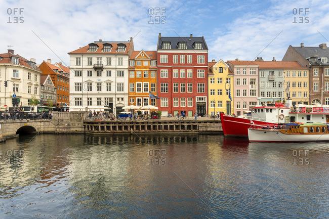 The historic Nyhavn- Copenhagen- Denmark