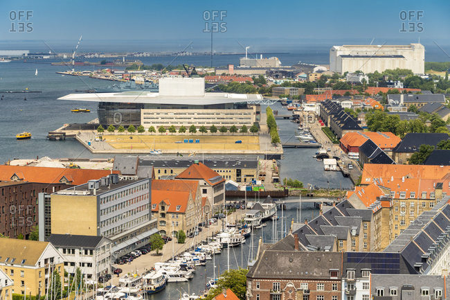 The royal opera house at Christianshavn- Copenhagen- Denmark