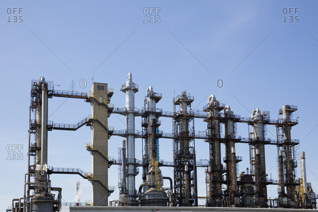 Germany- North Rhine-Westphalia- Castrop-Rauxel- Ruetgers Chemicals- chemical plant- refinery for coal tar