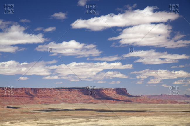 Gallup region desert plains, New Mexico, USA
