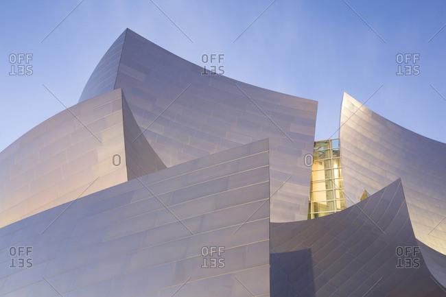 Los Angeles, California, USA - February 1, 2016: Walt Disney Hall Roof