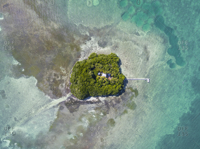 Bird's-Eye View Of Big Pine Key In Florida, Usa