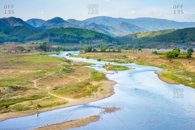 Yang Sin National Park, Lam Dong Province, Vietnam
