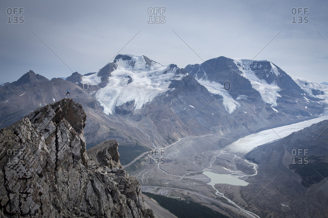 Overlooking Atahabasca Glacier - Offset Collection