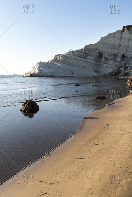 Scala dei Turchi cliff and beach, Sicily, Italy