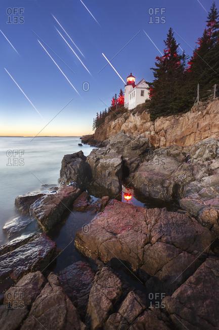 Bass Head Lighthouse, Acadia National Park, Maine, USA