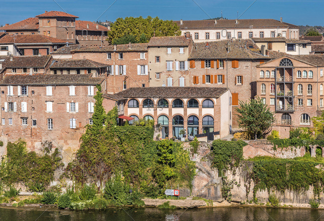 France, Tarn, Albi, la Madeleine district (right bank of the Tarn river)