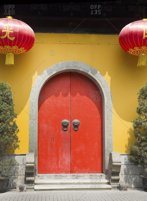 Jade Buddha Temple entrance, Shanghai, China