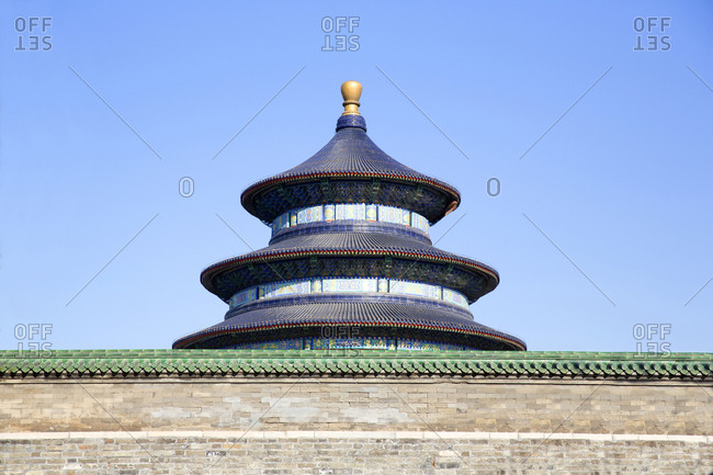 Forbidden City Palace complex Temple of Heavenly Peace, Beijing, China