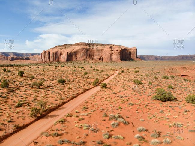 Canyons in Monument Valley Navajo Tribal Park, Utah, USA