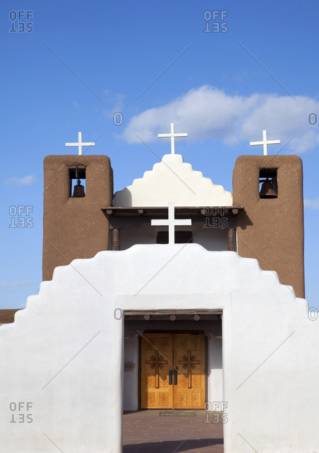 Geronimo church, Santa Fe, New Mexico