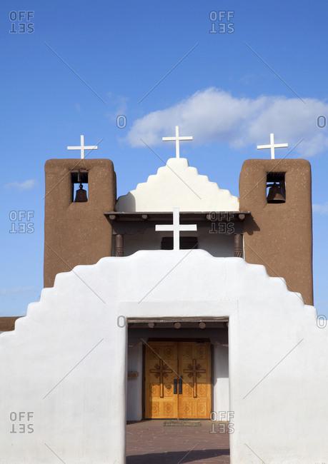Geronimo church, Santa Fe, New Mexico
