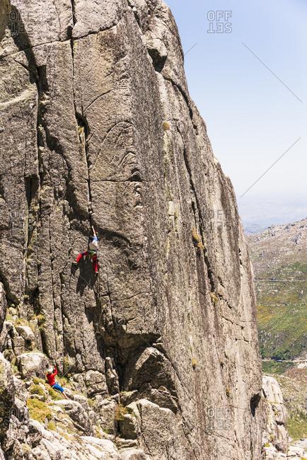 Climber on a nice crack.