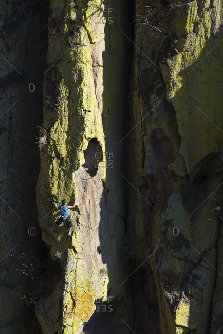 Rock climbing in Guadalajara, Mexico