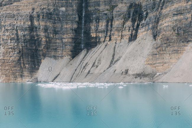 Lake and mountains, Glacier National Park, Montana, USA