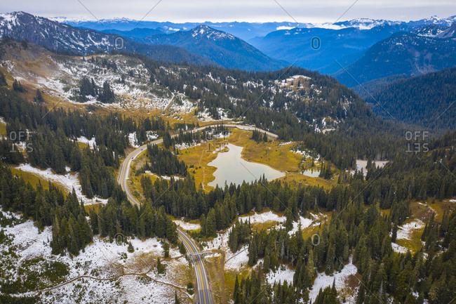 Mt Rainier National Park, Naches, Washington State, USA